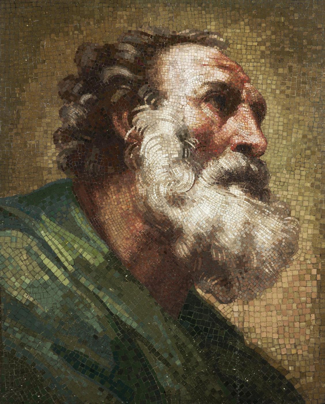 Mikhail Vasilyevich Lomonosov. The Apostle Peter