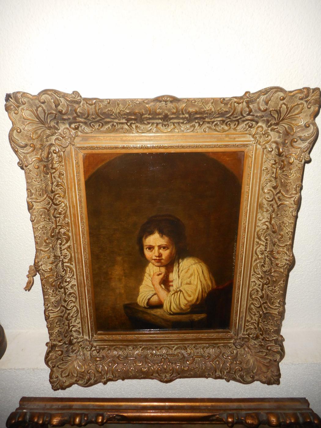 "Jan Theuns (1877-1961). ""Девочка в окне"""