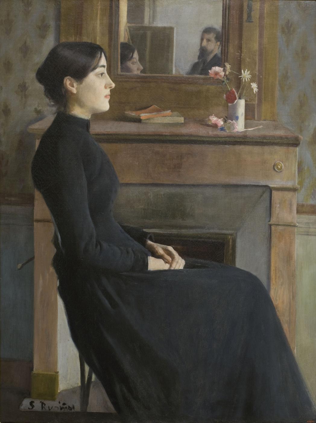 Santiago Rusignol. Female Figure