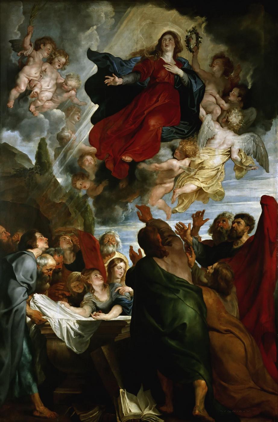 Питер Пауль Рубенс. Вознесение Марии