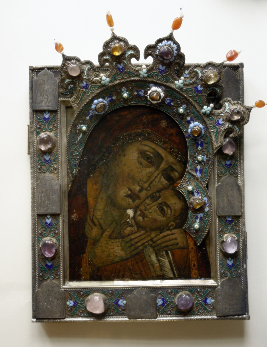 Moscow Icon Painting Workshop. The icon of the mother of God of Korsun