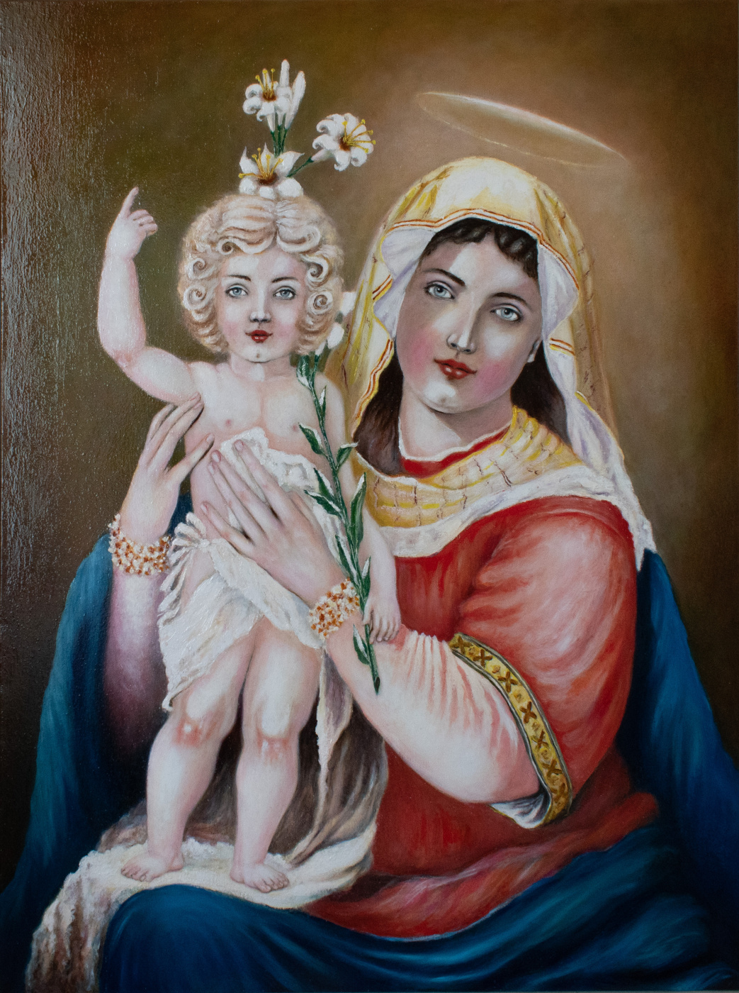 "Vitaliy Nikolaevich Savchenko. ""Madonna and Child"""