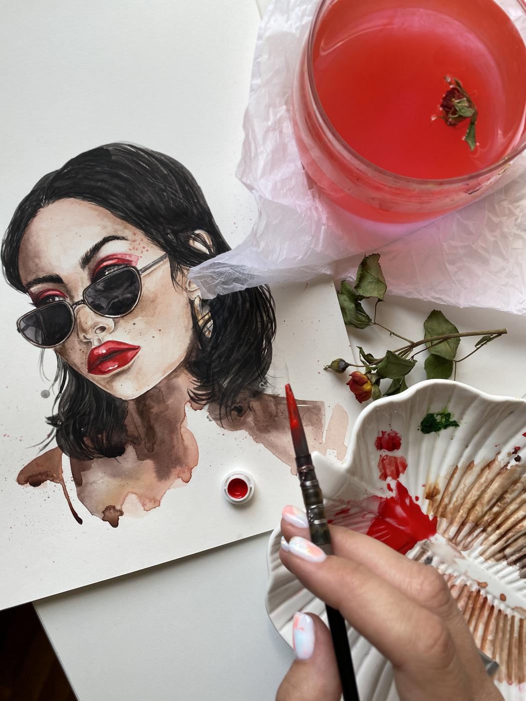 Arina Vikt. Fashion girl