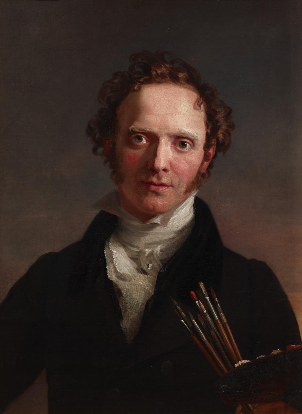 George Dow. Self-portrait