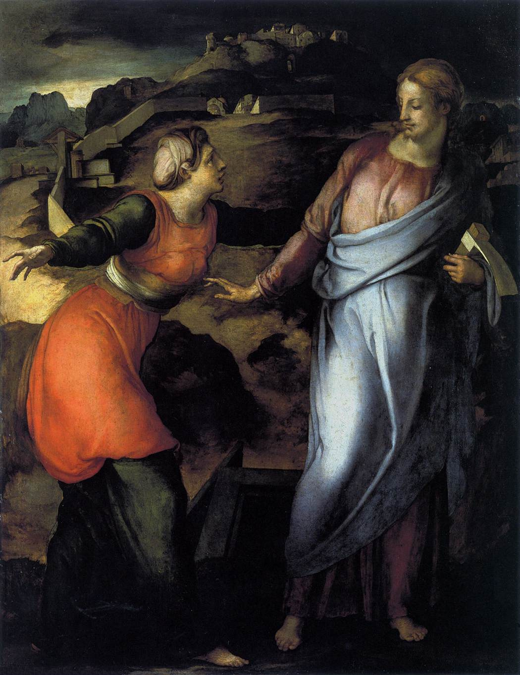 Jacopo Pontormo. Don't touch me