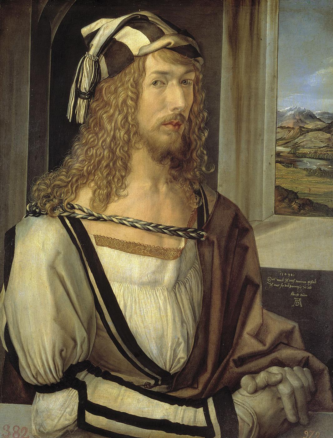 Albrecht Durer. Self-portrait
