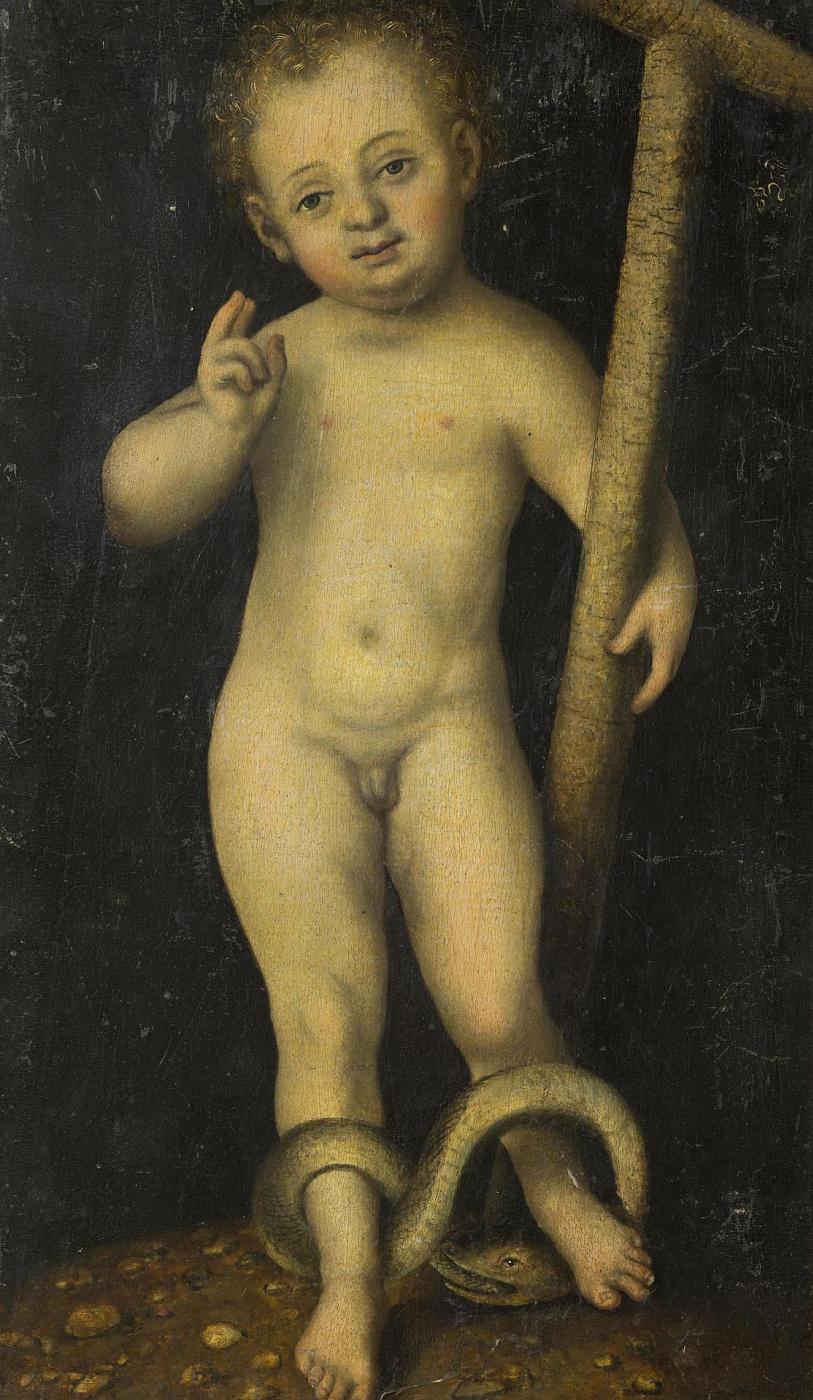 Lucas Cranach the Elder. The Infant Christ