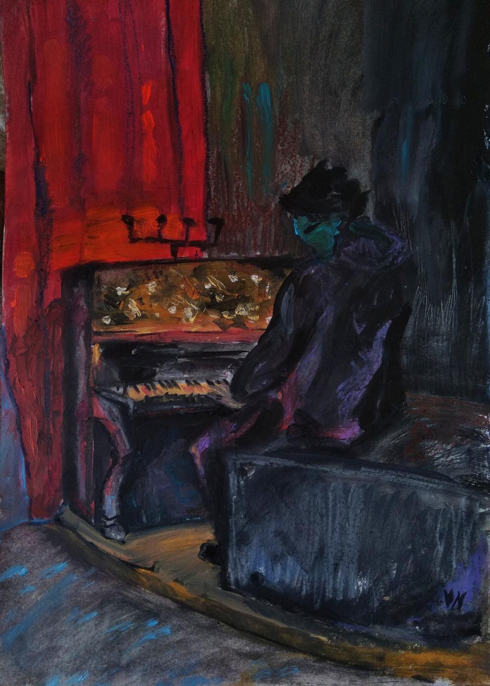 Valeria Ra. Pianist
