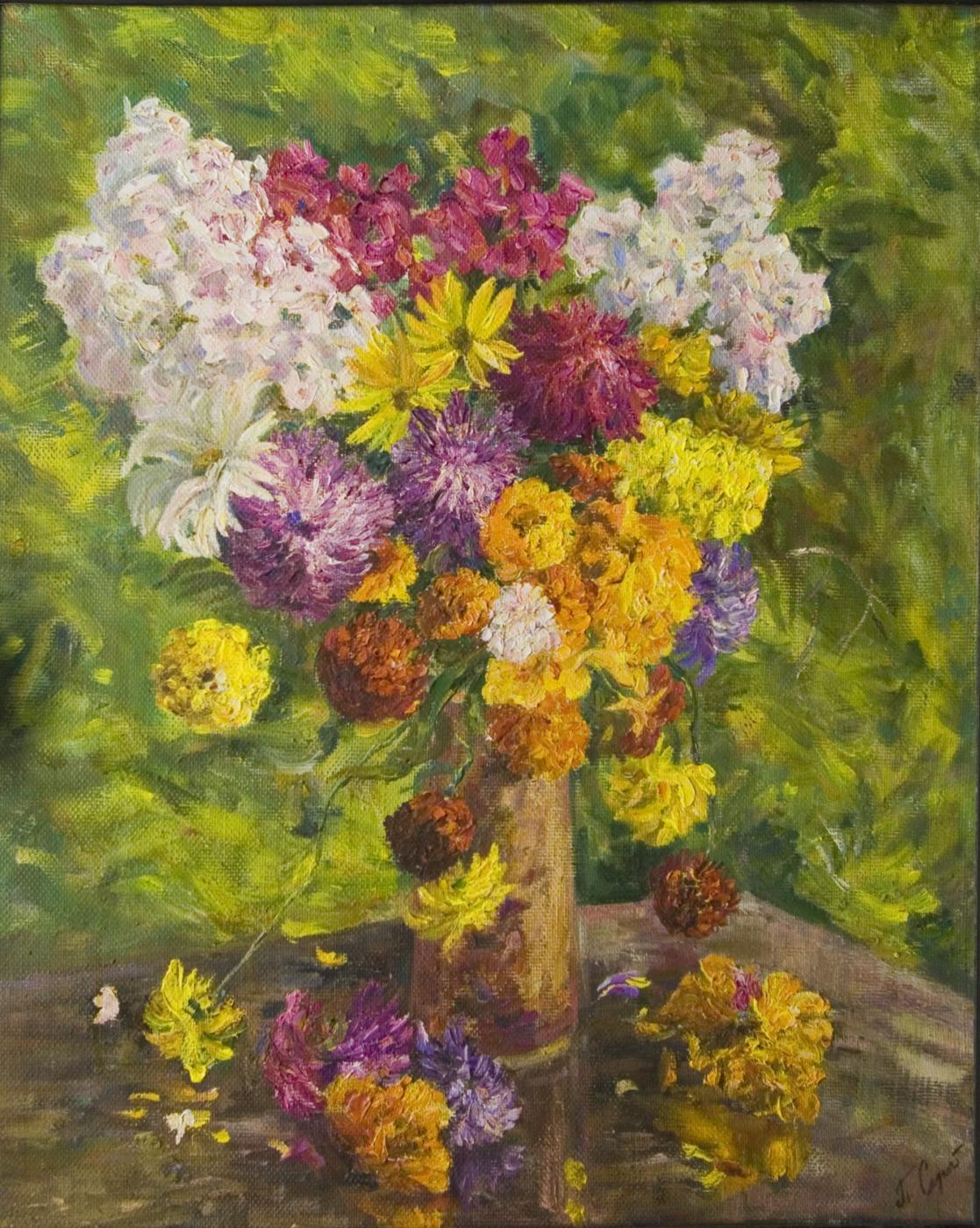 "Tatiana Gennadievna Sorogina. ""Sunny bouquet"""