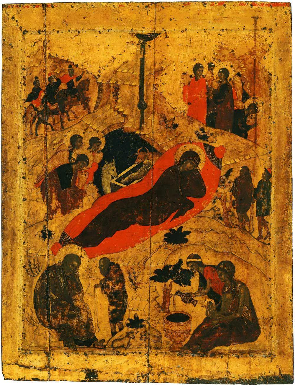 Andrey Rublev. Nativity