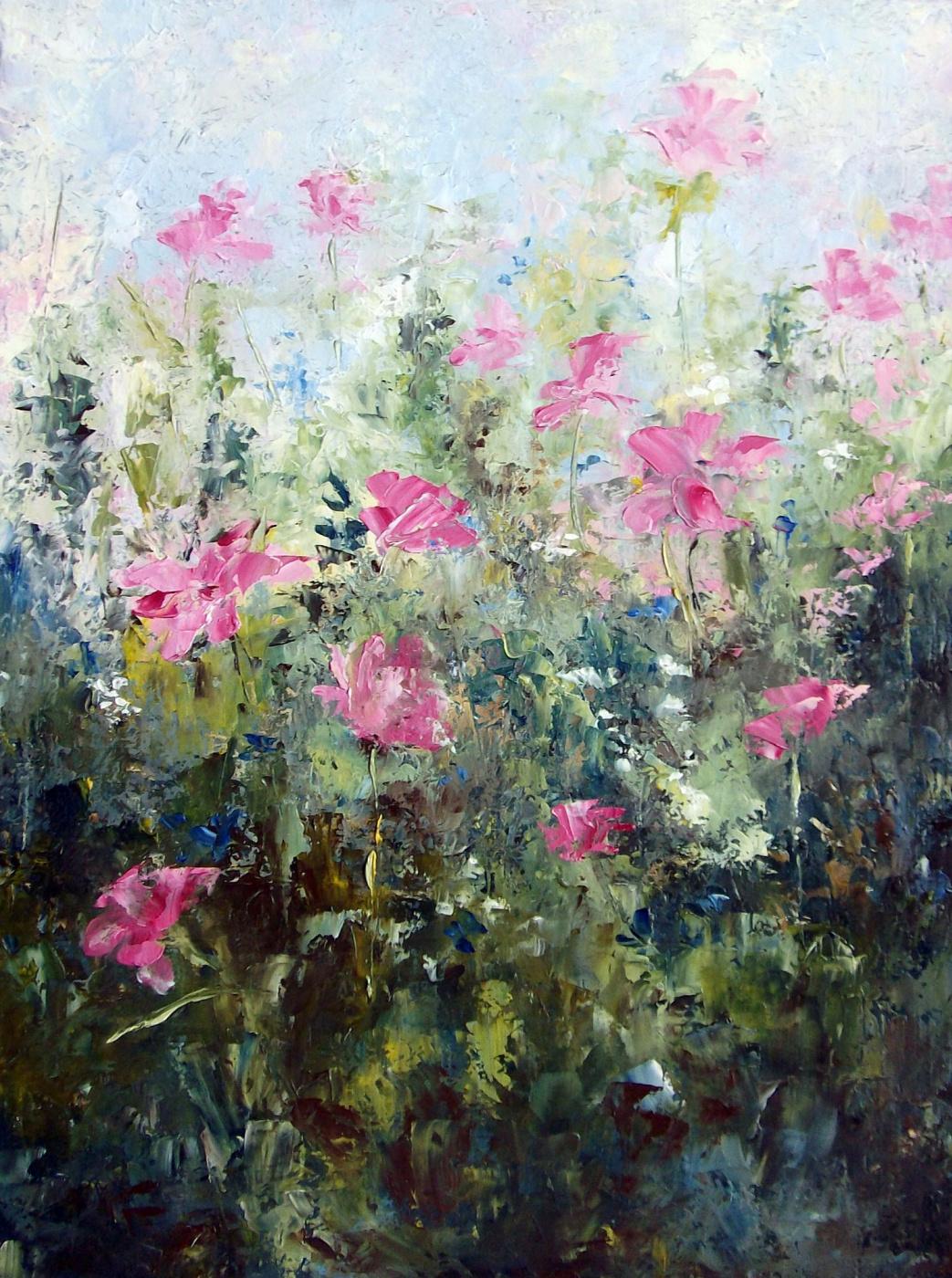 Elena Viktorovna Yudina. Meadow blooms