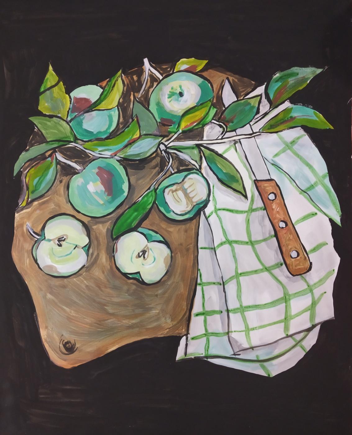 Alesya Zueva. Little apples