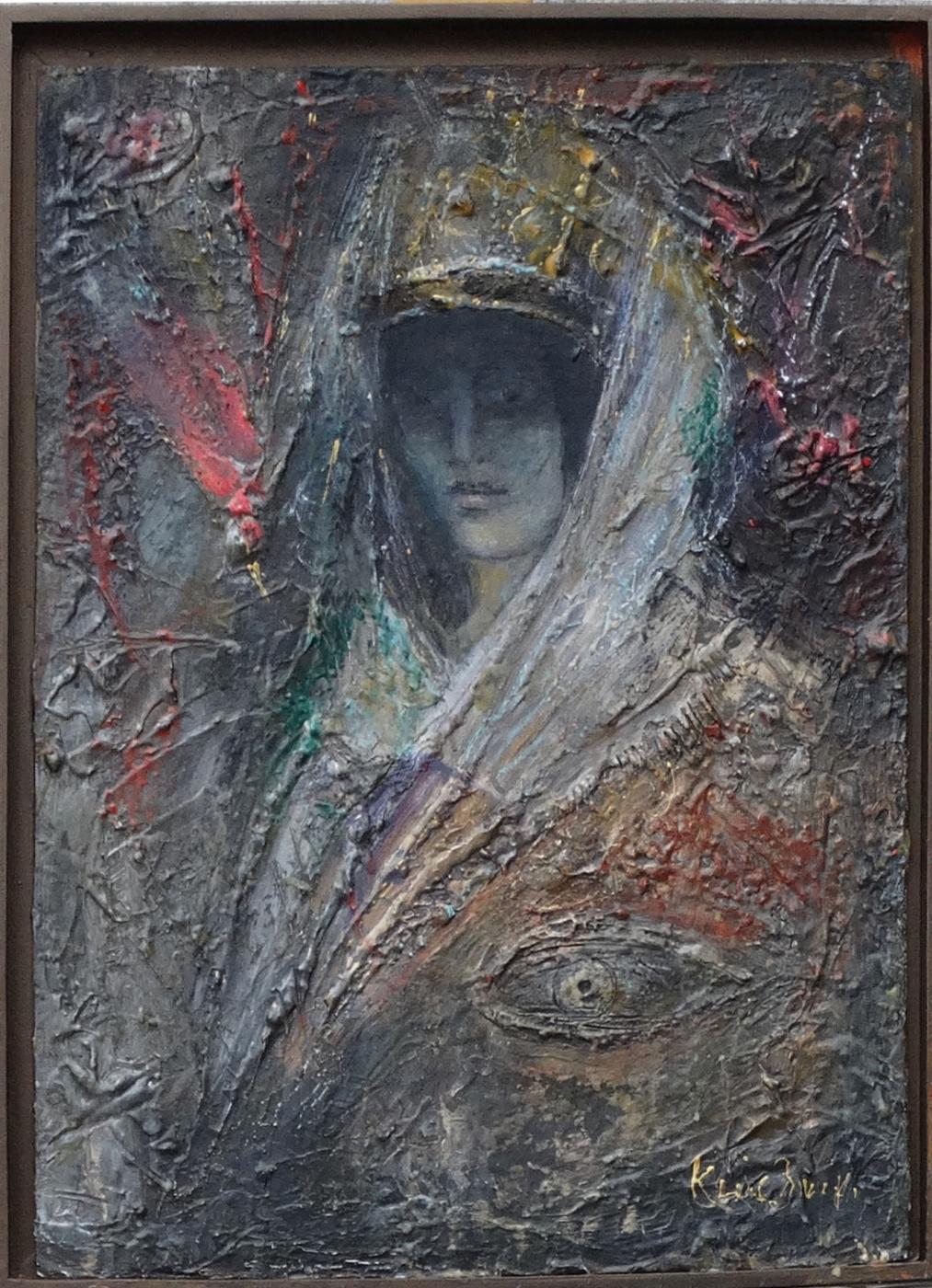 Anatoly Antonovich Kluchinsky. White shawl