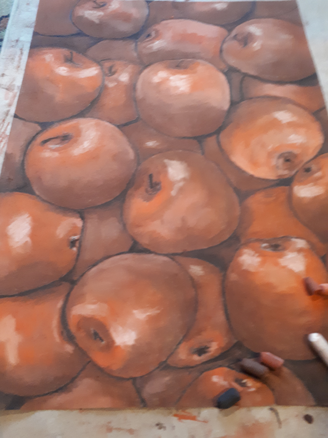 Tatyana Mikhailovna Sokolova. Apples for the one who can't