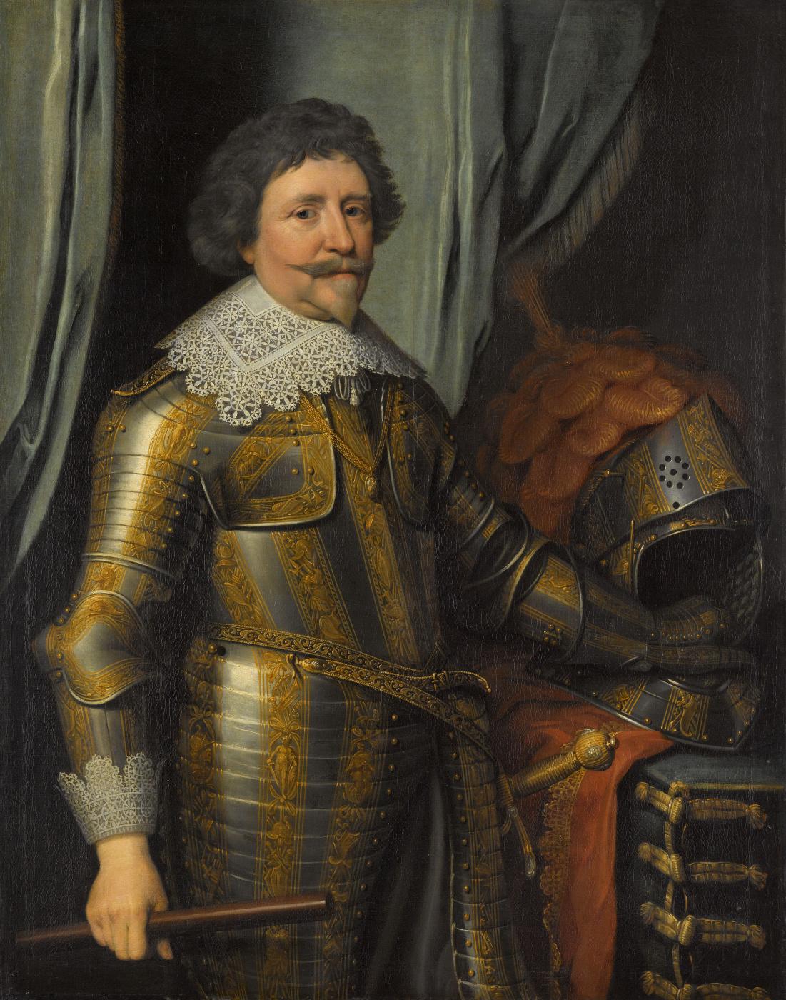 Janson Mihil van Mireveld. Frederick Hendrick, Prince van Oranje