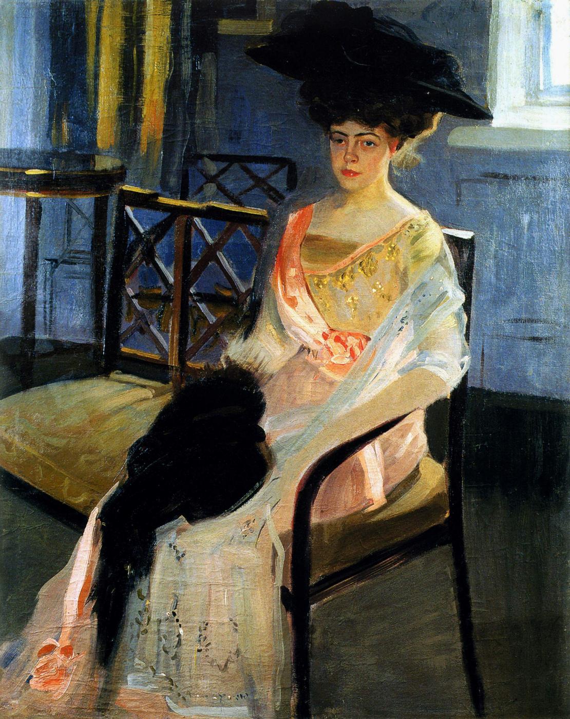 Alexander Murashko. Portrait of Vera Nikolaevna Epancies in marriage Falz-FEIN