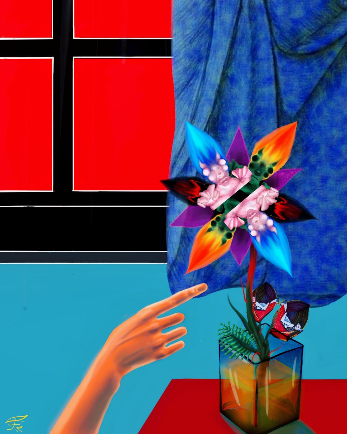 Christina Kovalchuk. Triptych Piece of Life