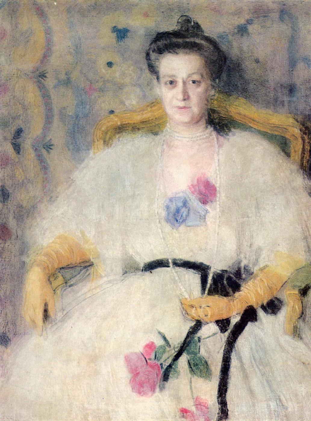 Alexander Yakovlevich Golovin. Portrait Of M. V. Voeikov