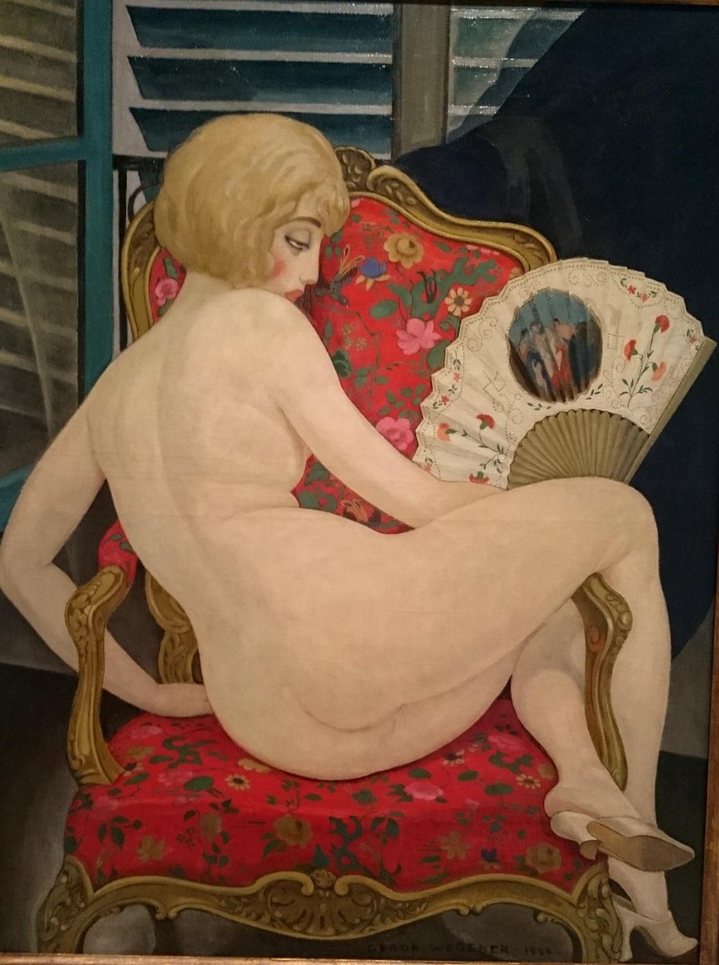 Gerda Wegener. Lily, hot summer