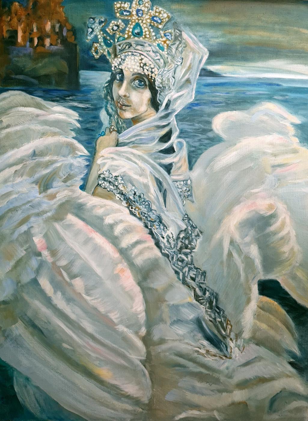Marina Tumilovich. Swan princess