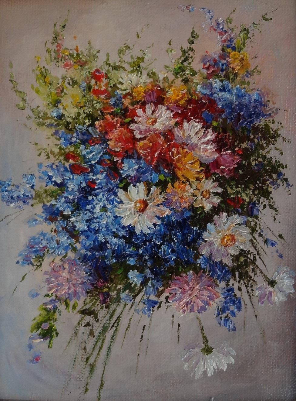 Irina Nikolaevna Borisova. Wildflowers.