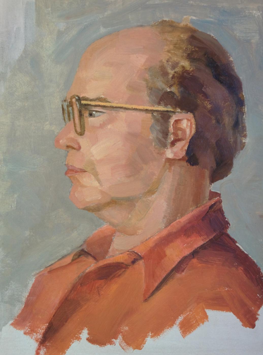 Дмитрий Аркадьевич Лаптев. Портрет отца