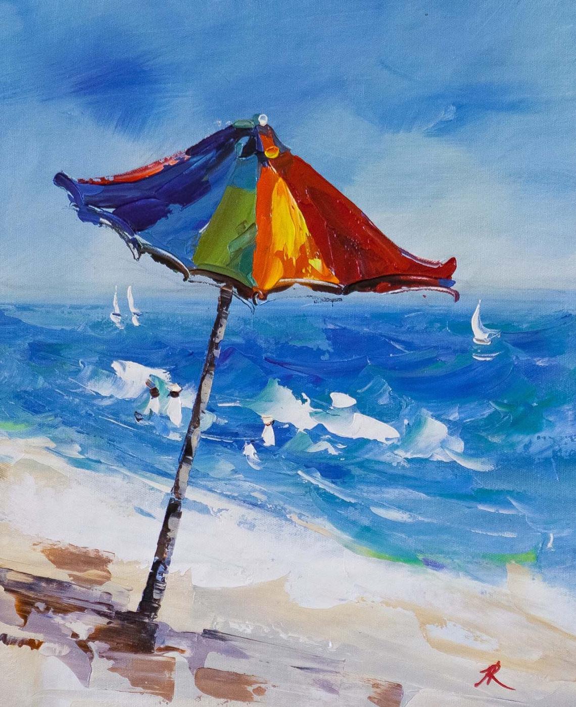 Jose Rodriguez. Beach stories. Umbrella