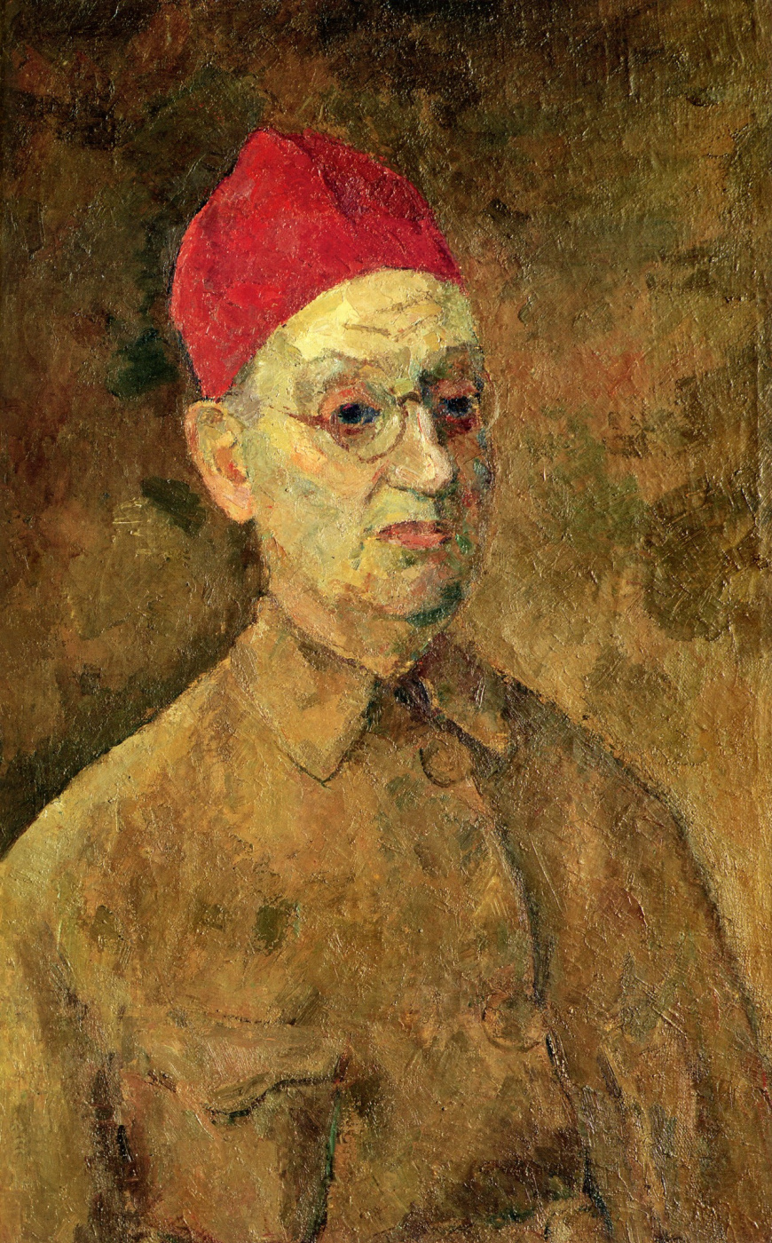 Роберт Рафаилович Фальк. Автопортрет в красной феске