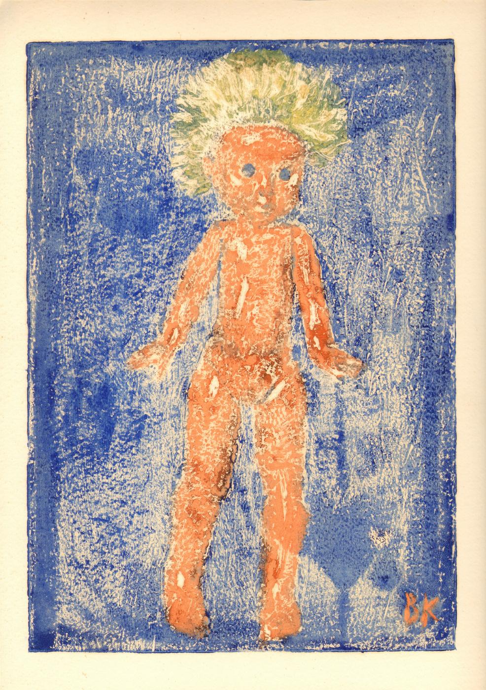 Вячеслав Крыжановский. Doll standing