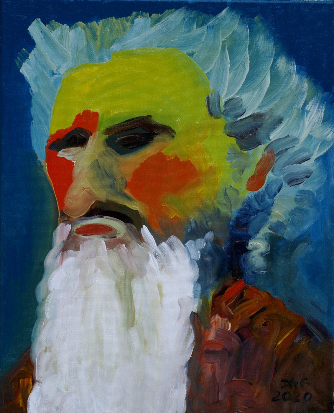 Alexander Ocher Kandinsky-DAE. Grandpa DAE (Self-portrait)