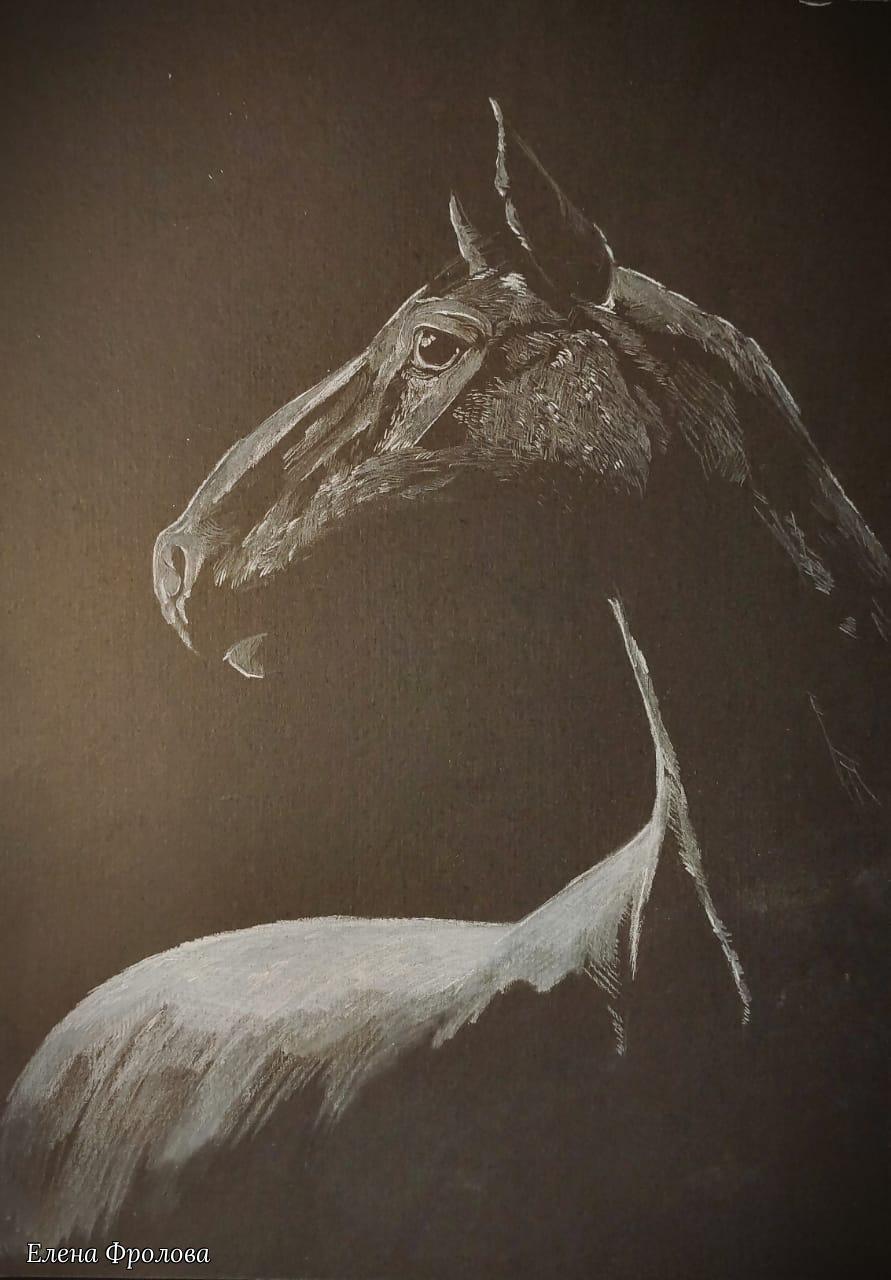 Elena Nikolaevna Frolova. Horse