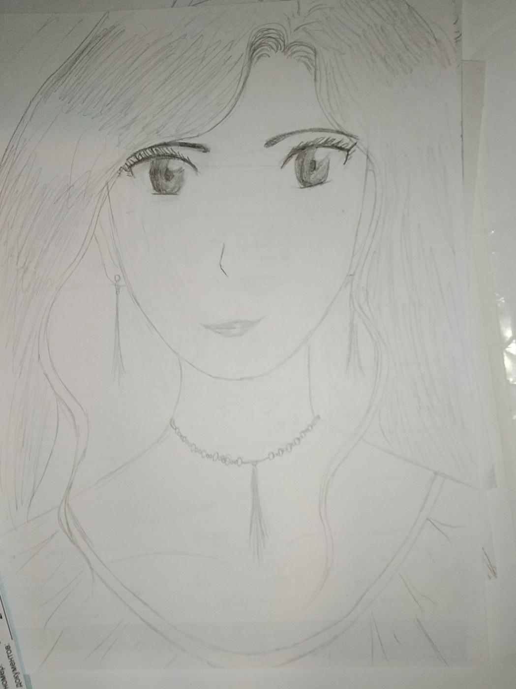 Zina Vladimirovna Parisva. Anime girl
