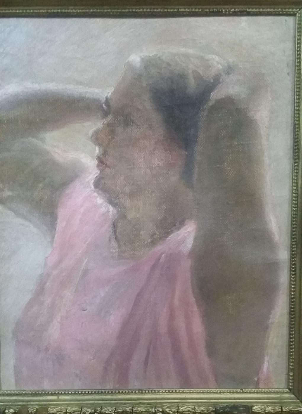 Alexander Nikolaevich Samokhvalov. Female portrait
