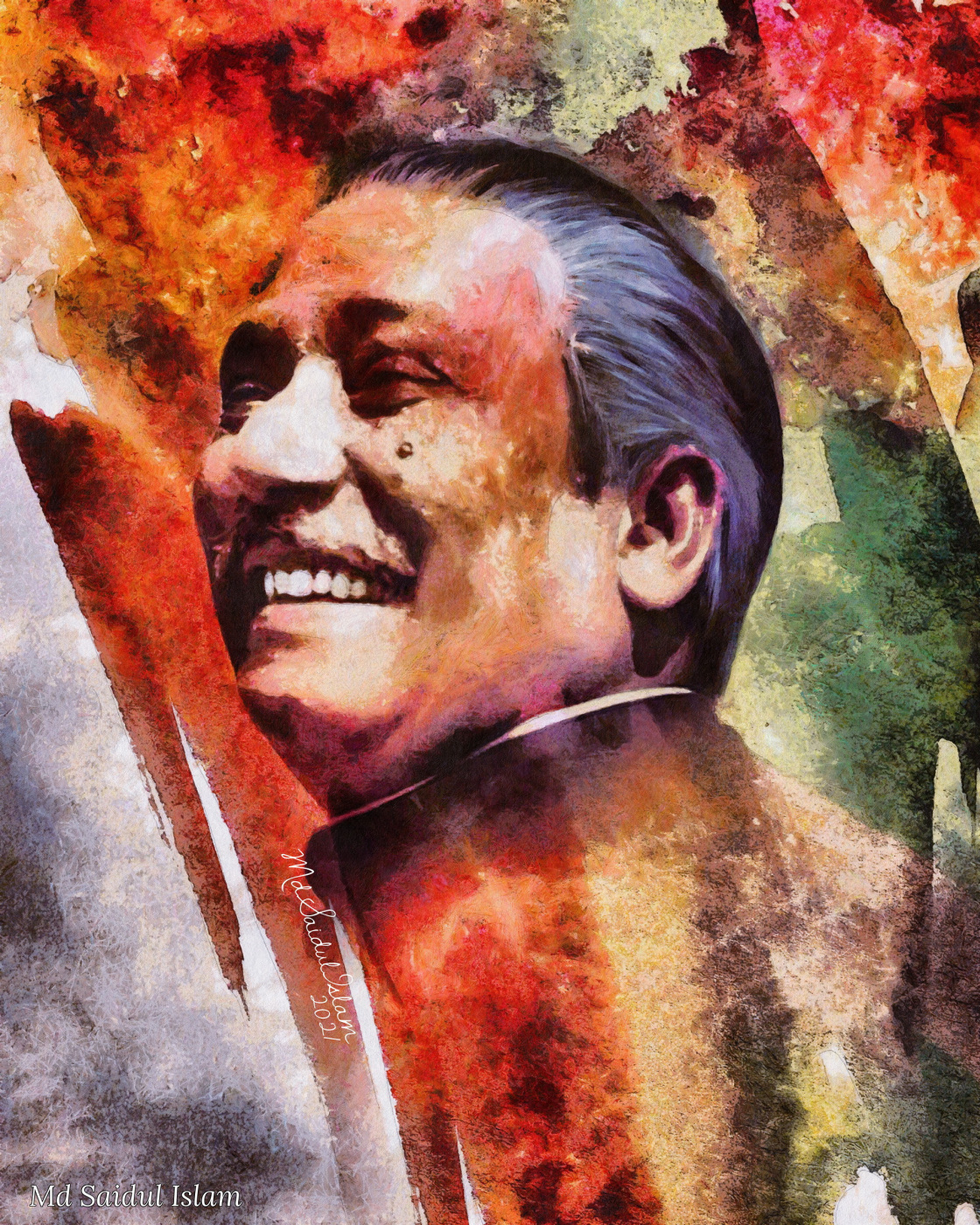 Md Saidul Islam. Bangabandhu - The Liberator