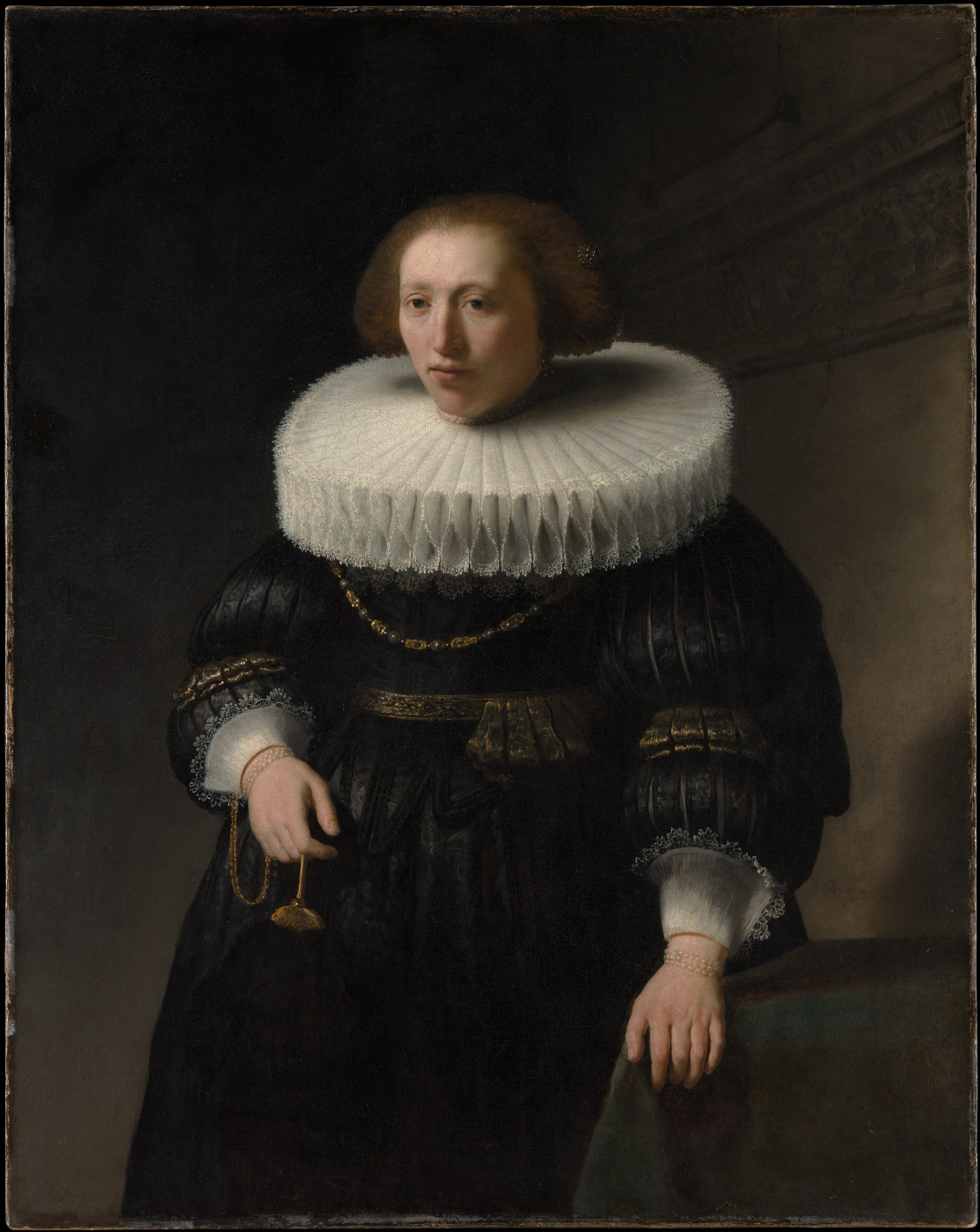 Rembrandt Harmenszoon van Rijn. Portrait of a lady, probably from the family van Beresteyn