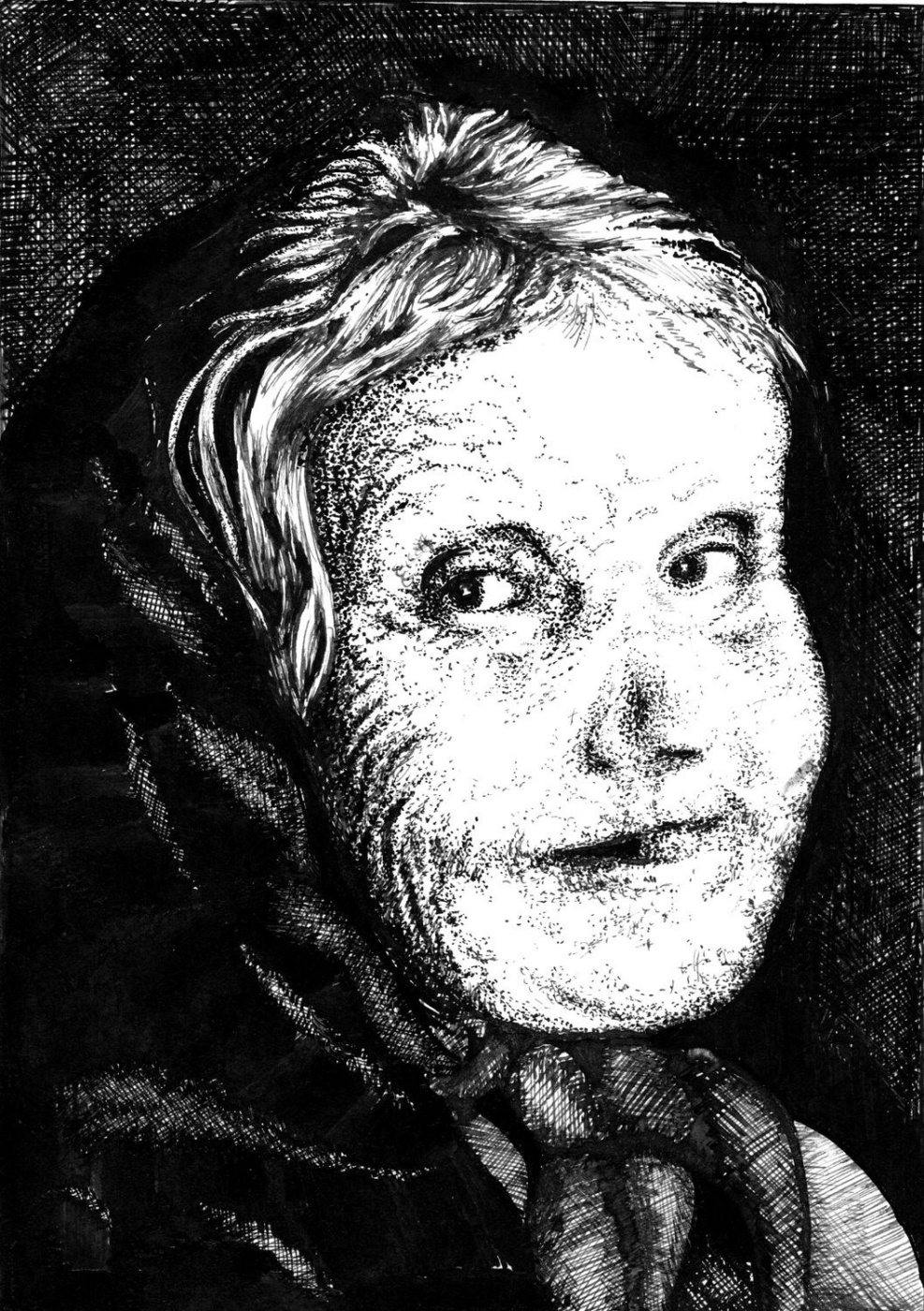 Vladimir Vasilyevich Abaimov. Grandma Pelageya