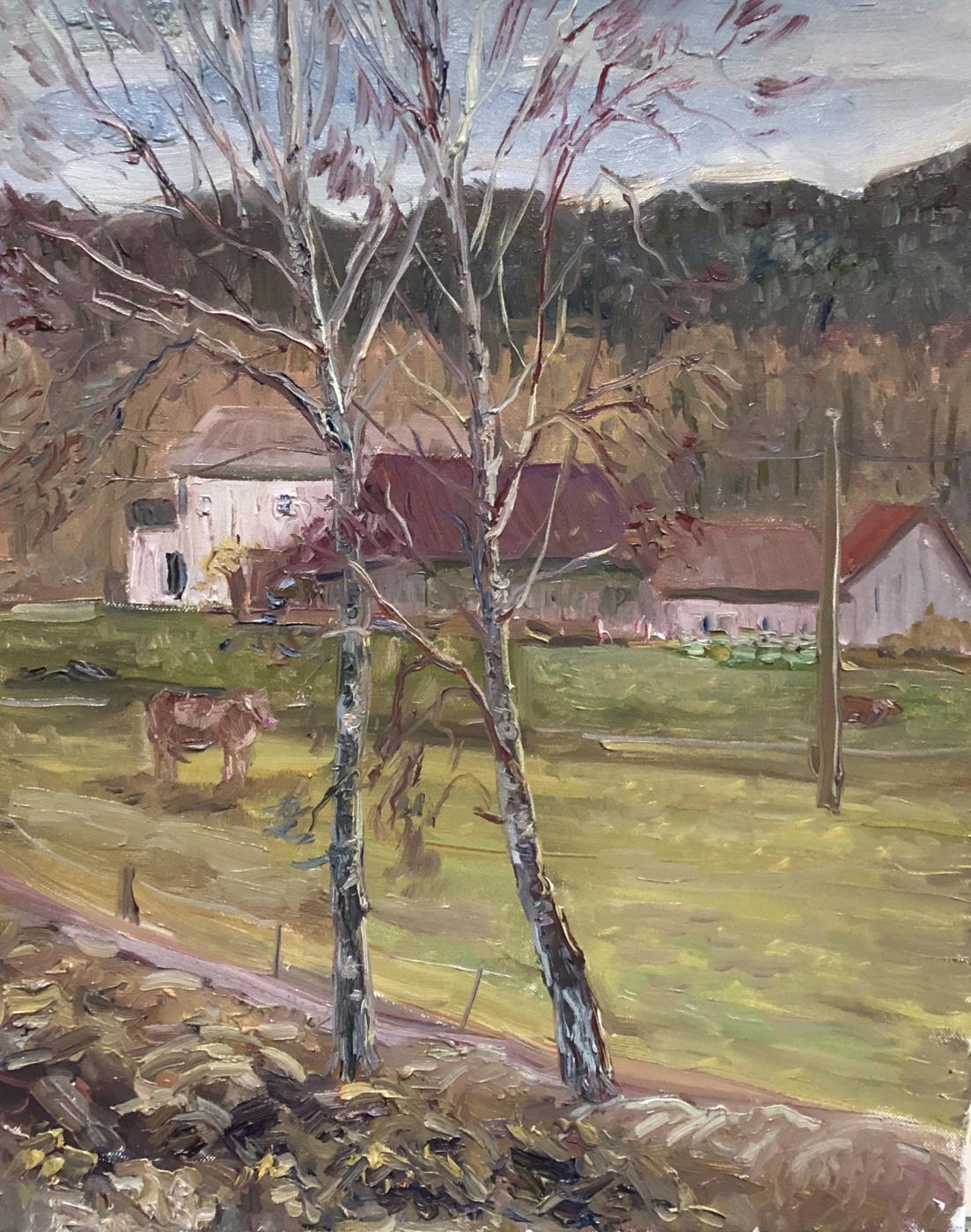 Виктория Мальшакова. On the farm. Austria