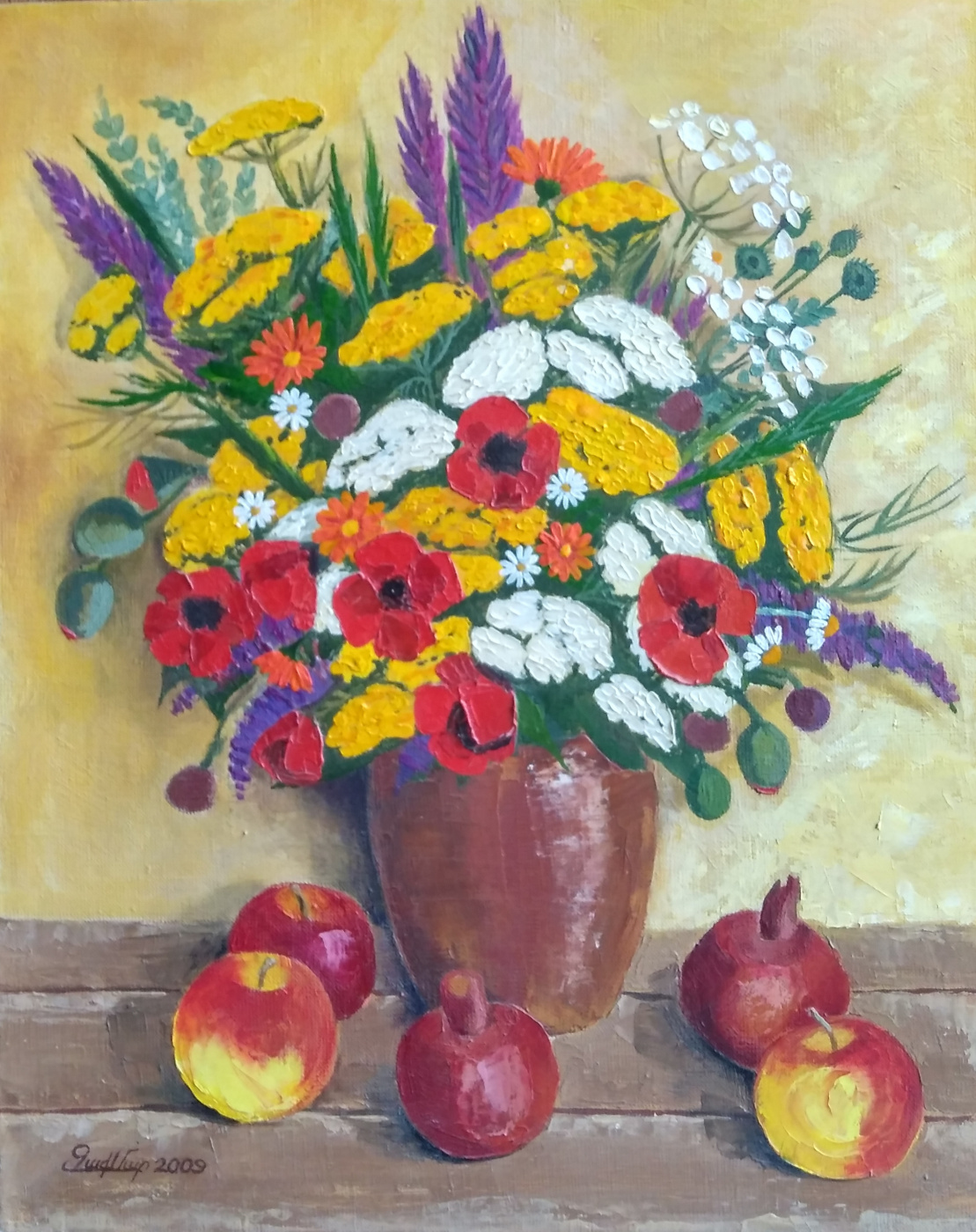 Maria Zakaryan. Мountain flowers