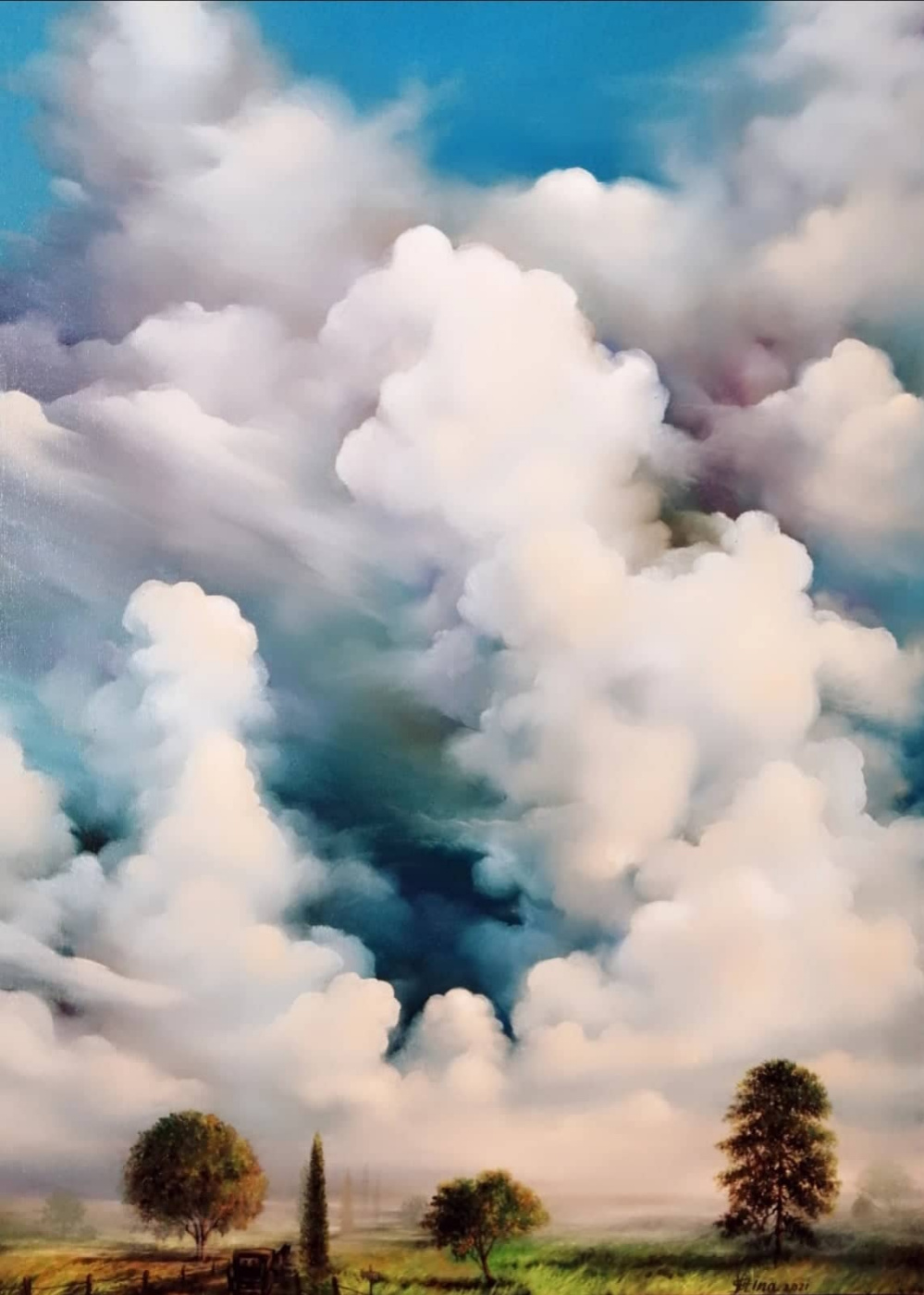 Valia Scripnic. Sky