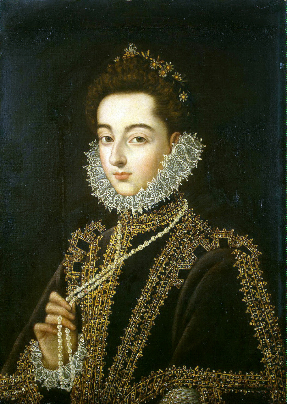Alonso Sanchez Coello. Portrait of the Infanta Catalina Micaela Austrian