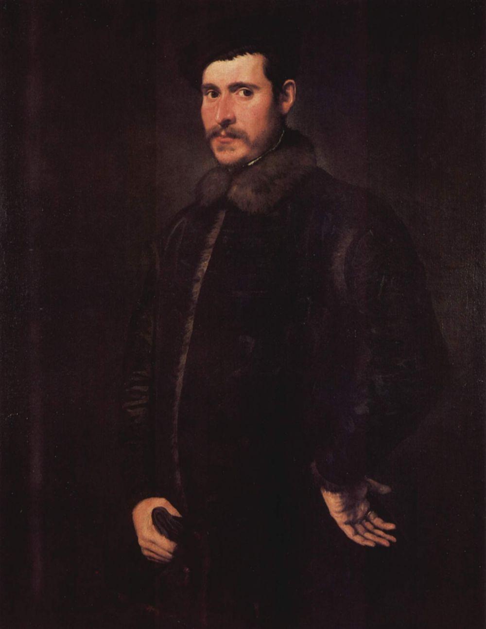 Jacopo (Robusti) Tintoretto. Portrait of a nobleman