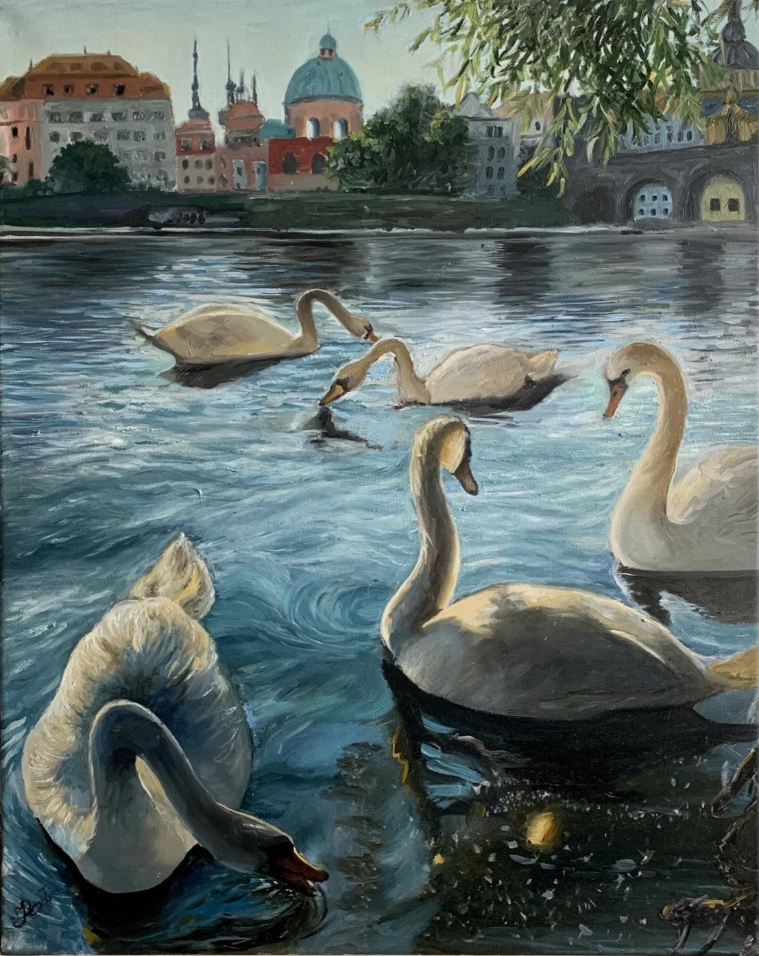 Andriana Ivas. Пражские лебеди