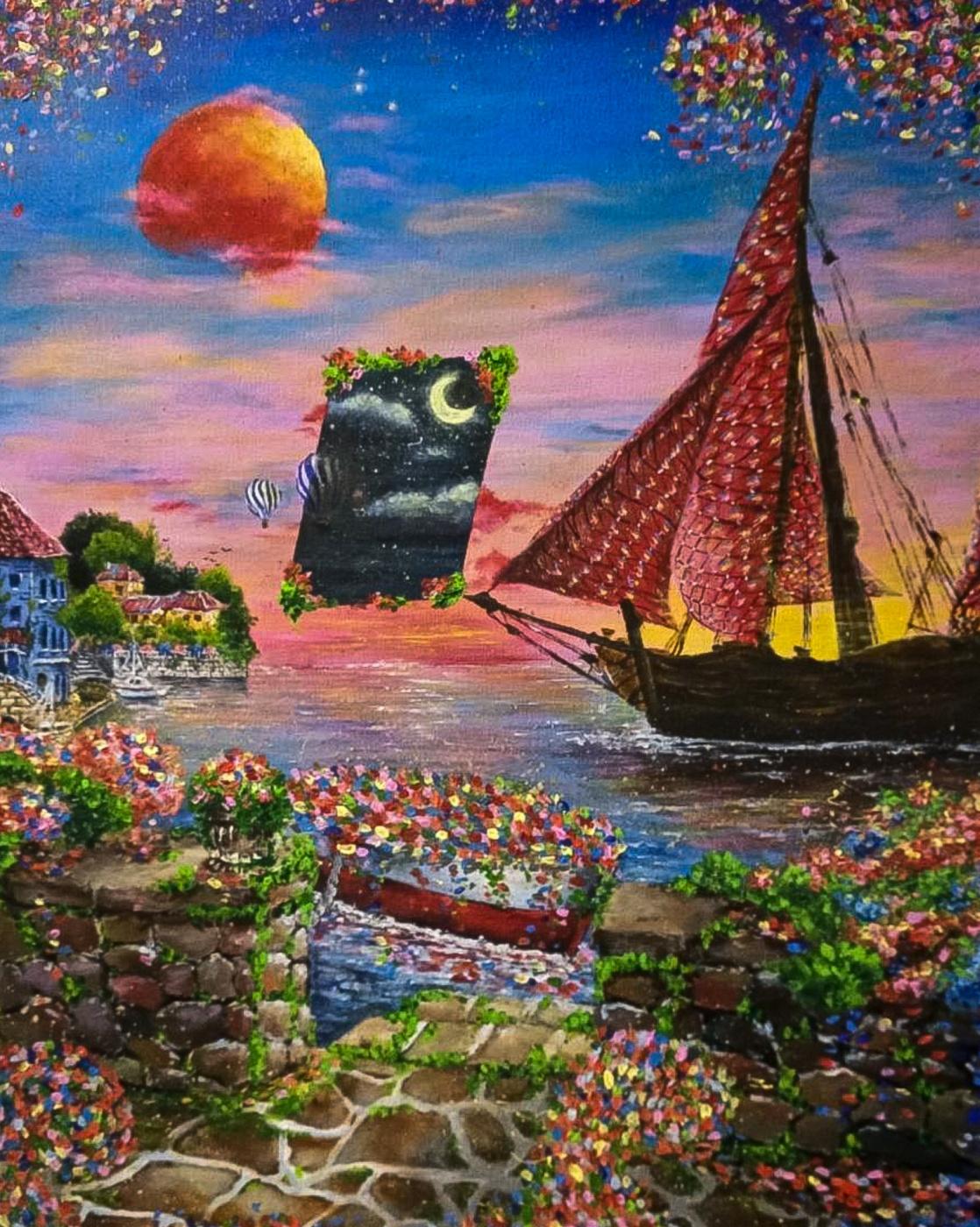Anastasia Grieg. Scarlet Sails
