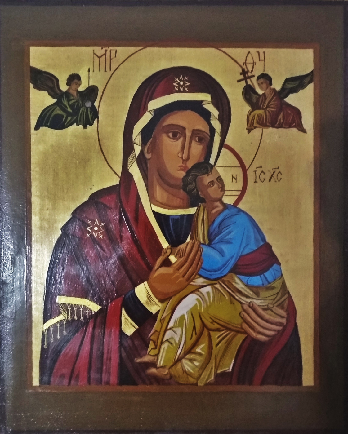 Sergey Vladimirovich Skorobogatov. Passionate icon of the Mother of God