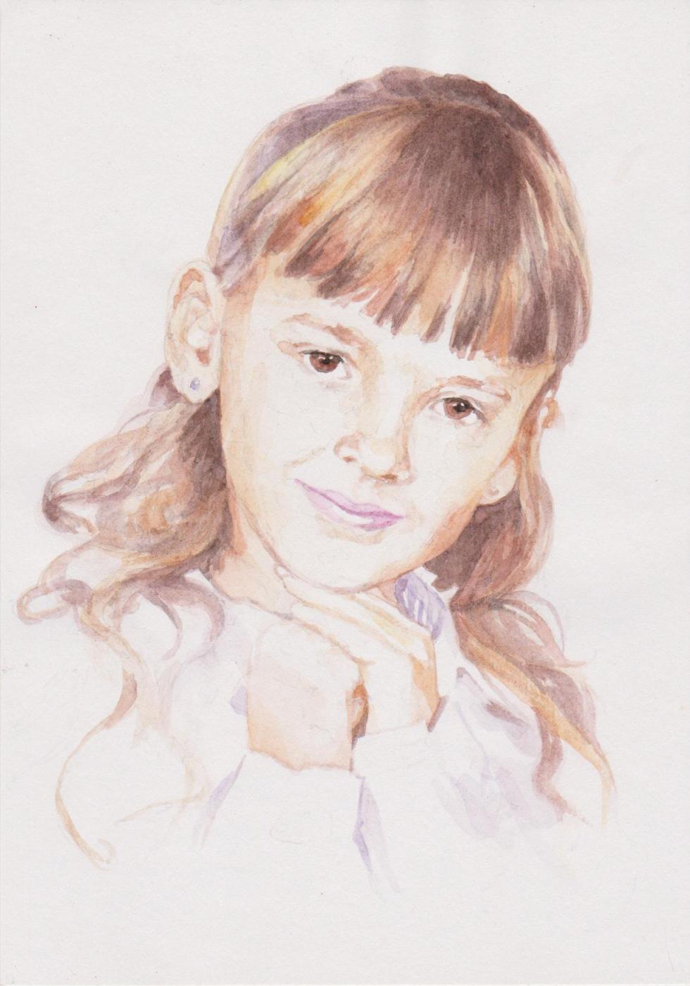 Ivan Alexandrovich Dolgorukov. Portrait of Elizabeth Pivovarova