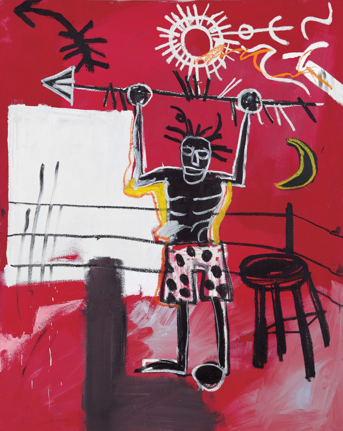 Jean-Michel Basquiat. The ring