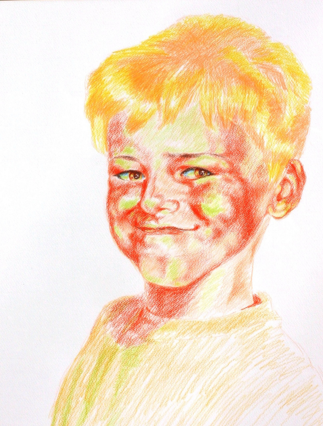 Alexander Ocher Kandinsky-DAE. Sunny Boy. (Son of the artist Sasha)