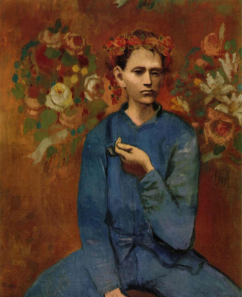 Pablo Picasso. Boy with a pipe