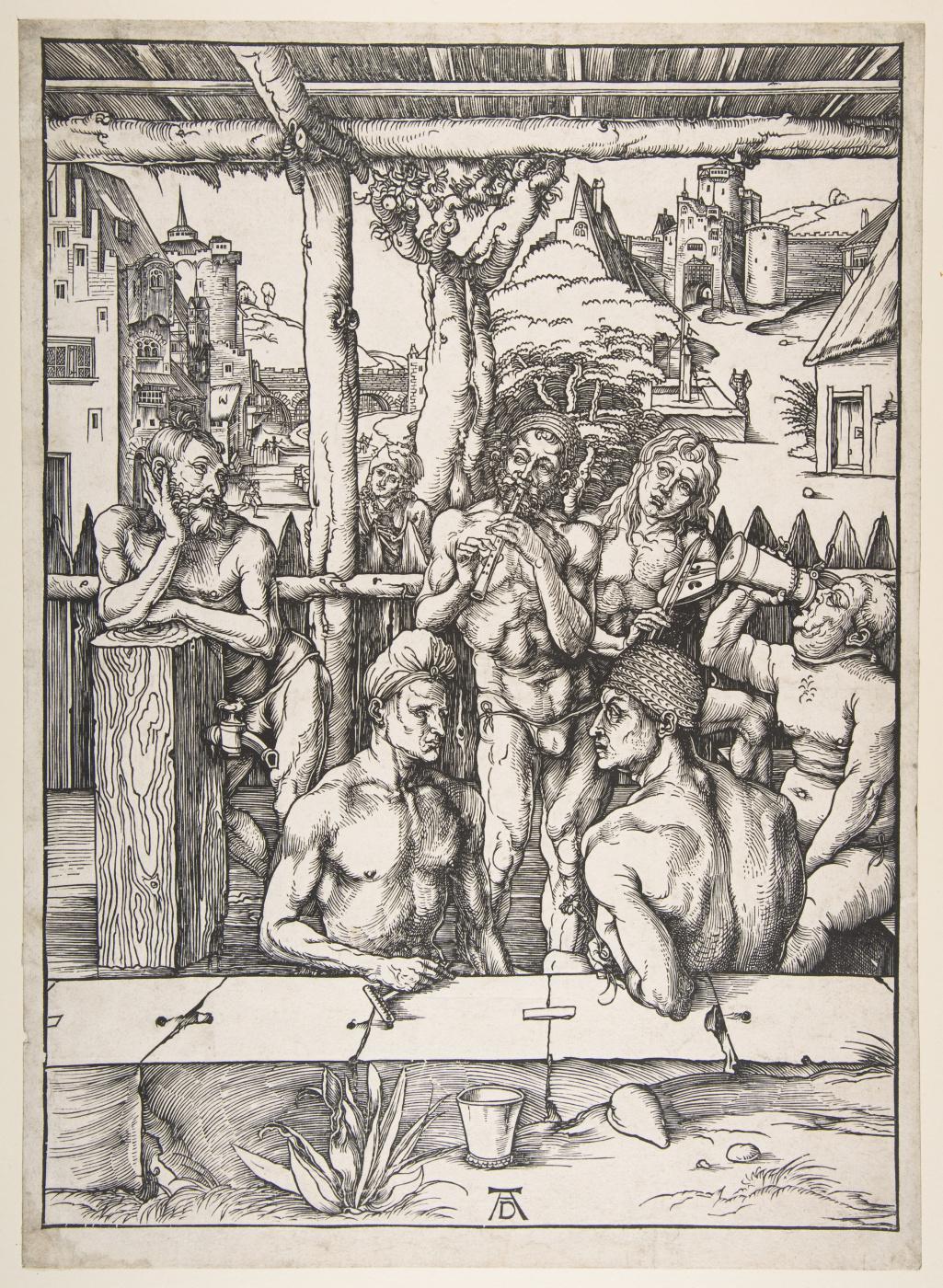 Albrecht Dürer. Men's bath