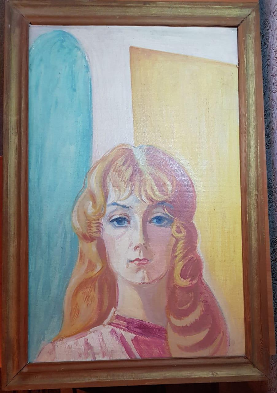 Yuri Semenovich Evseev. Niece Yulka 13 years old